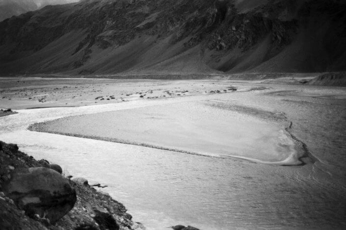 Padum - Zanskar river valley