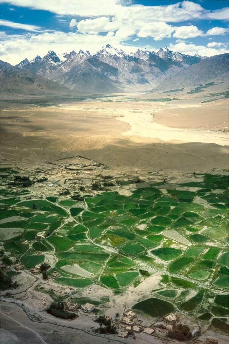 Padum - Zanskar river valley