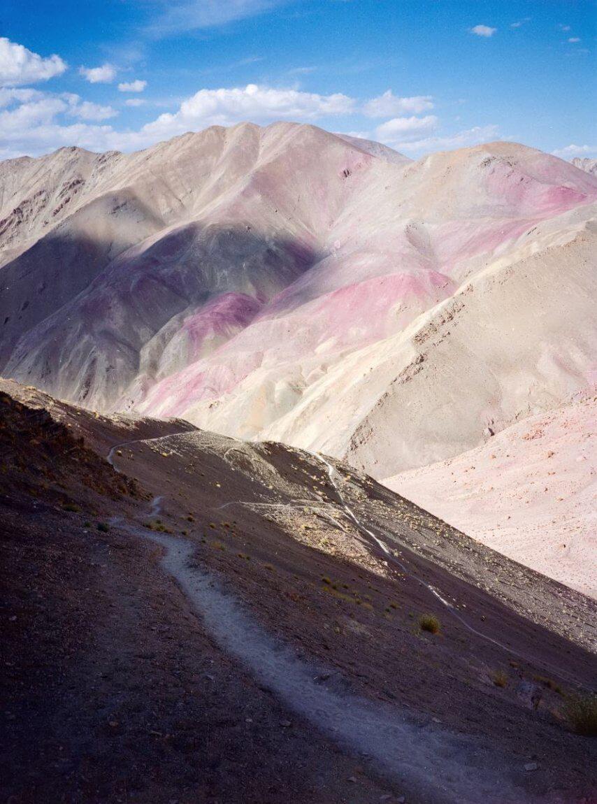 Mountain trek near Hemis Shukpachan