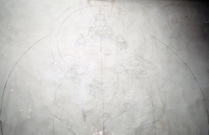 Buddhist drawing