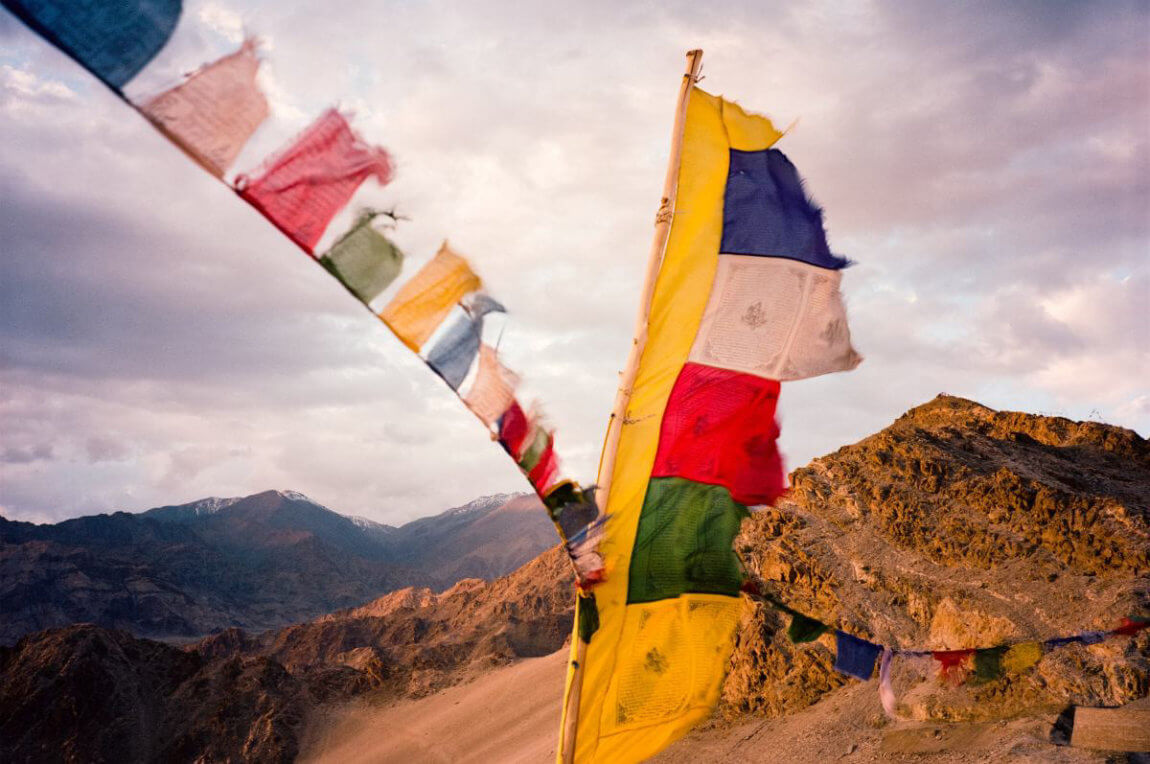 traditional Buddhist flag