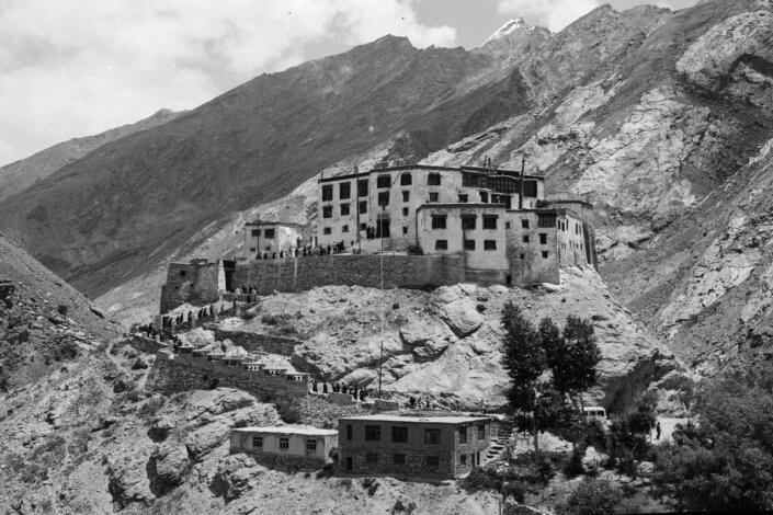 Mountain monastery, Muney Gonpa Zanskar