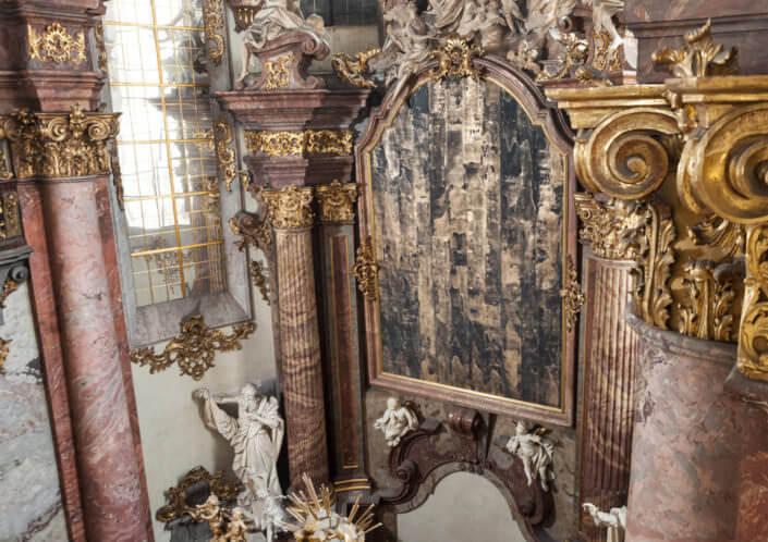 Artwork photo - Patrik Hábl: event specific paintings for St. Salvator's church, Prague