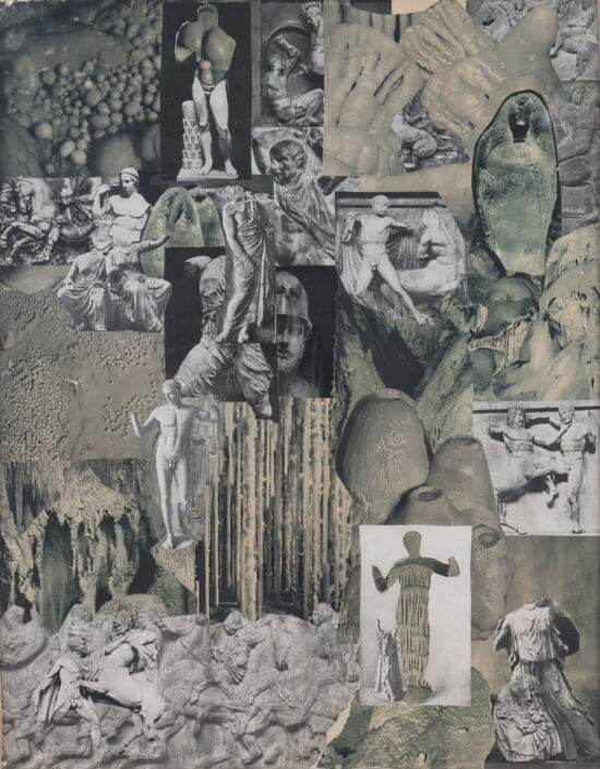 Artwork photo – Jiří Kolář (collage)