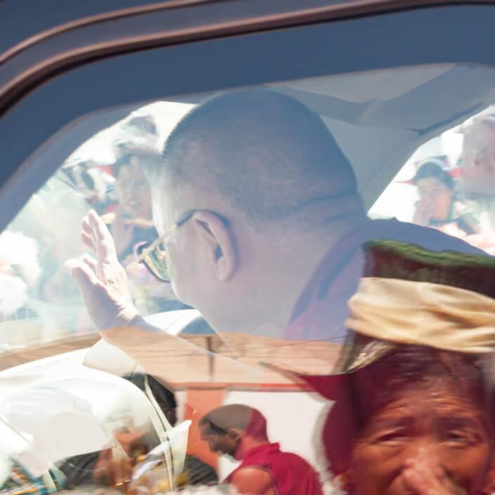 meeting Dalai Lama