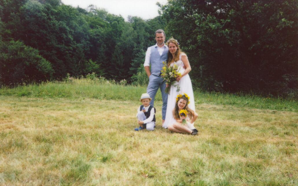 Svatební fotografie - polaroid