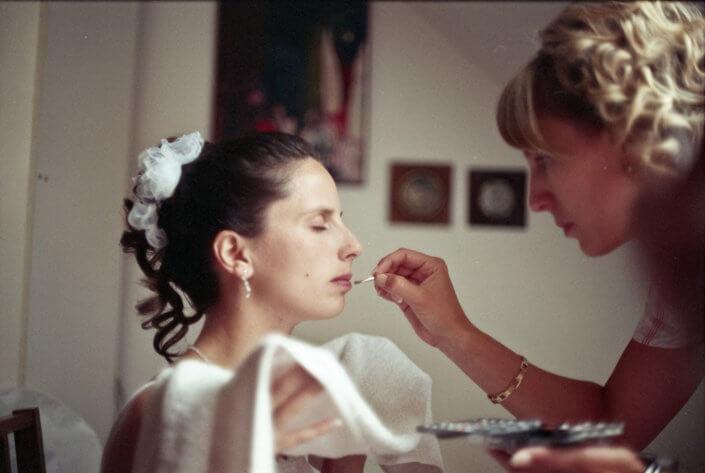 Svatební fotografie - barevný film
