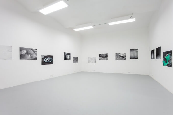 Installation view – Eye is a Palindrome, Jelení gallery, Prague (CZ) (photo © Michal Czanderle)